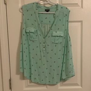 Mint Chocolate Chip Torrid Tank Size 1